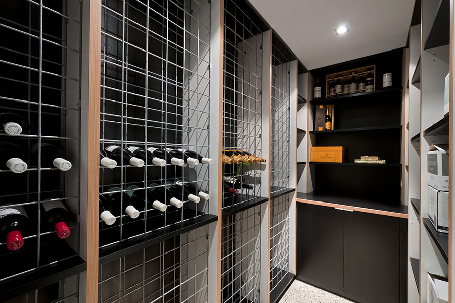 raven_st_001.jpg ... & Timeless looking and elegant wine cellar // Nickson u0026 Burke // Melbourne